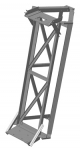 Elevator with plates for rotator and bearing
